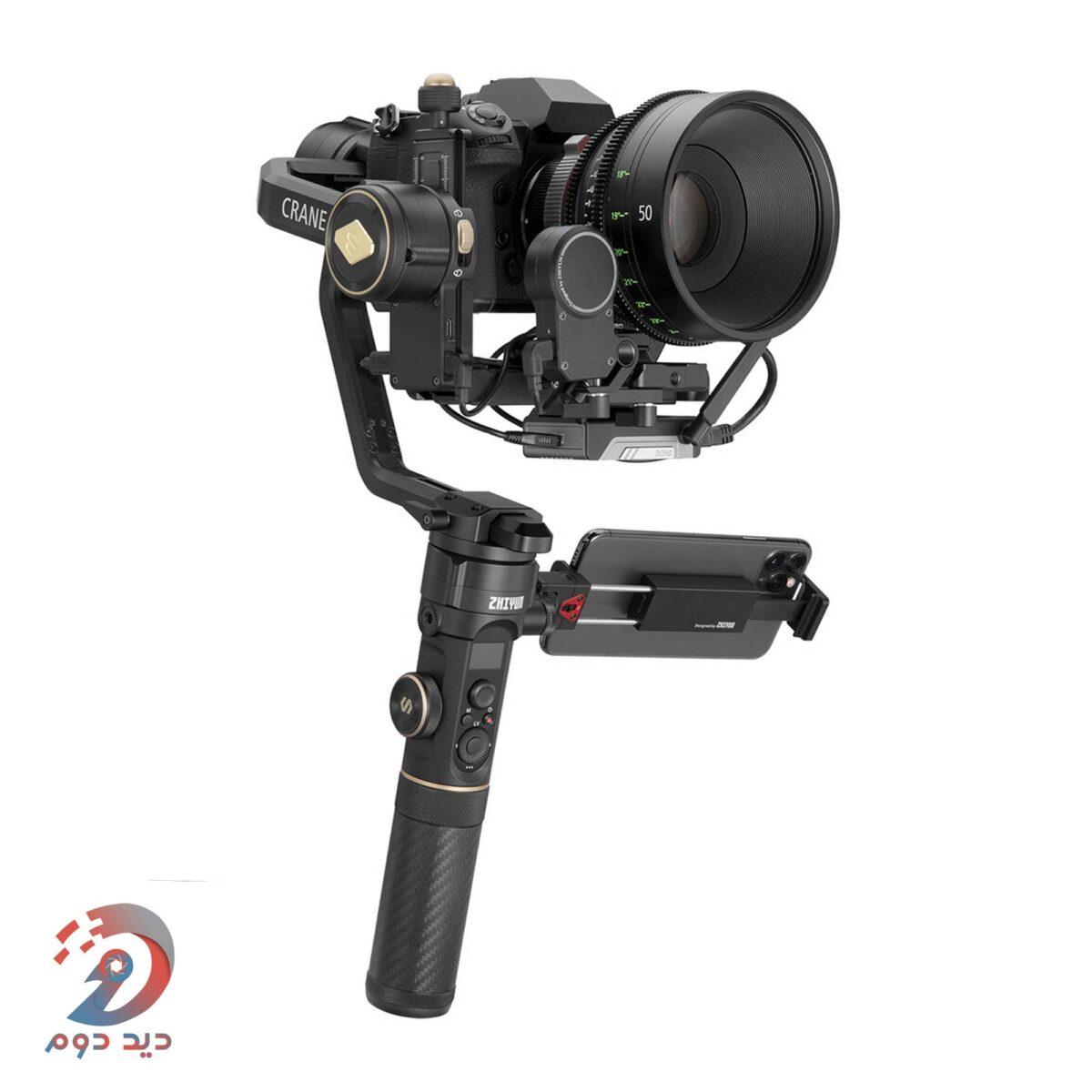 گیمبال دوربین Zhiyun-Tech CRANE 2S Handheld Stabilizer