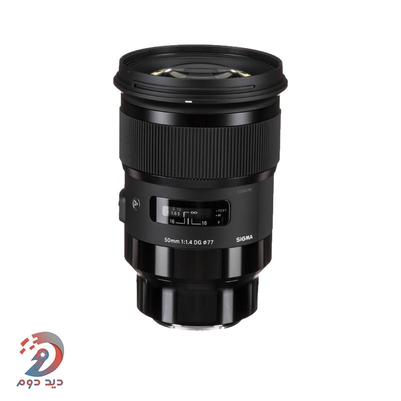 لنز Sigma 50mm f/1.4 DG HSM Art for Sony E