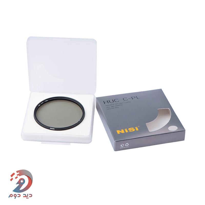 فیلتر لنز عکاسی پلاریزه Nisi Pro Nano C-PL 46mm filter