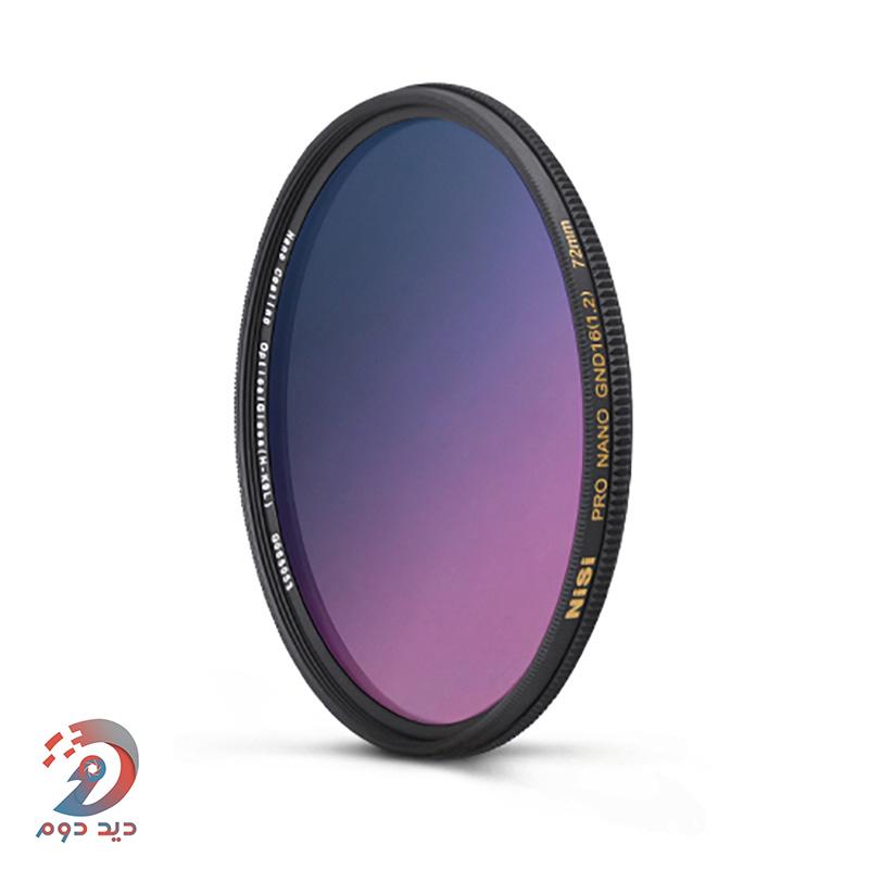 Nisi Pro Nano GND 16-72mm filter
