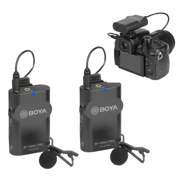 میکروفن بی سیم BOYA BY-WM4 Pro Wireless Microphone