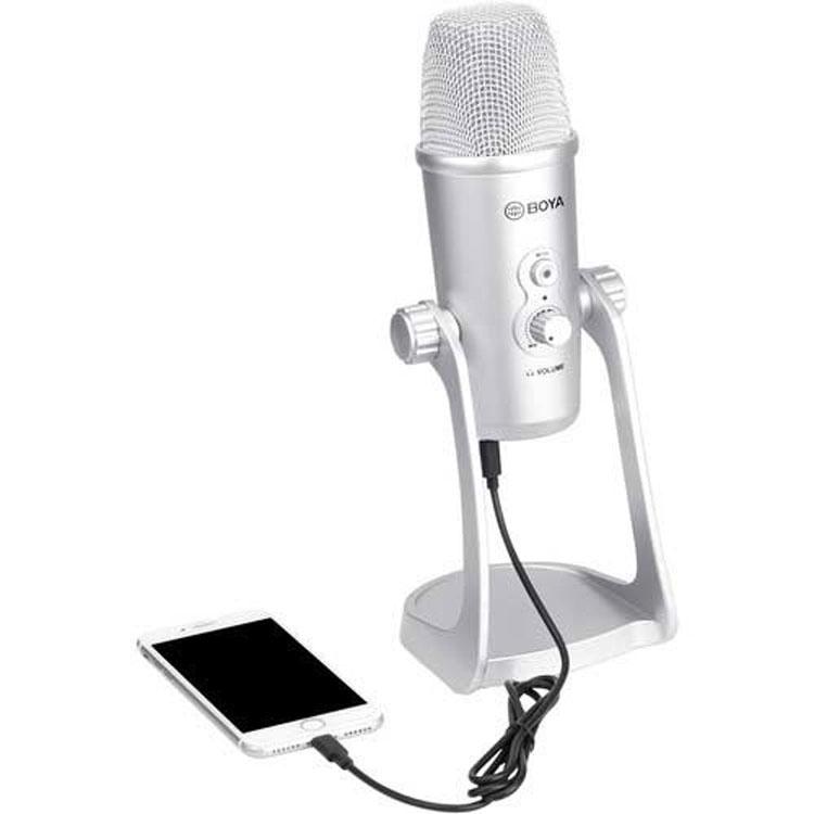 میکروفن بویا BOYA BY-PM700SP Multipattern USB Condenser Microphone