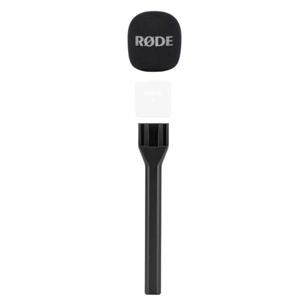 بادگیر و دسته میکروفن رُد Rode Interview GO Handle and Pop Filter for Wireless GO
