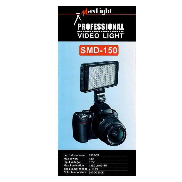 نور ثابت ال ای دی Maxlight SMD-150 LED Video Light