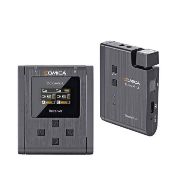 ست میکروفن بی سیم کامیکا Comica BoomX-U U1