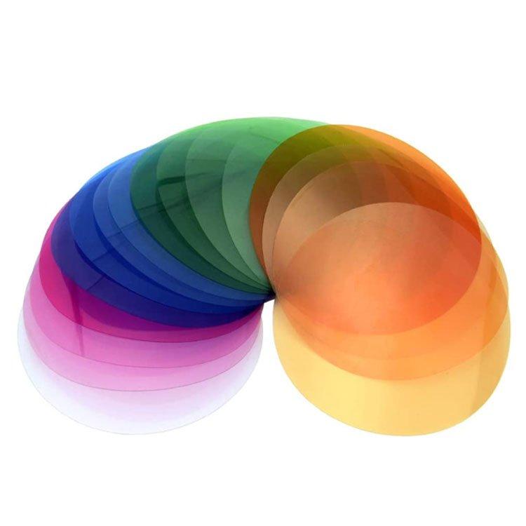 فیلتر رنگی Godox V-11c 15pcs Color Gels for V1