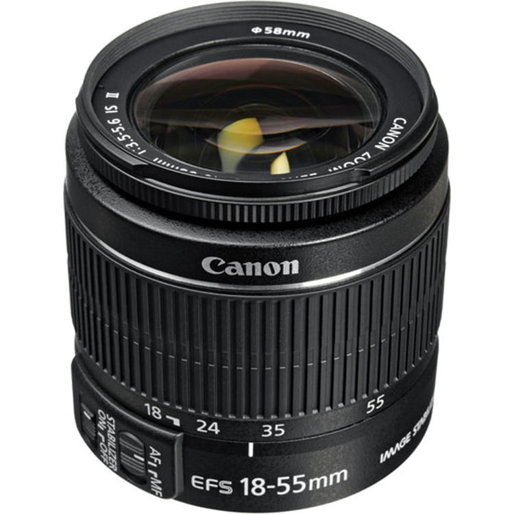 لنز کانن Canon EF-S 18-55mm f/3.5-5.6 IS II No Box