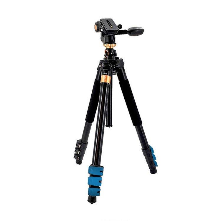 سه پایه دوربین بیک (Beike Q600 Camera Tripod (Blue