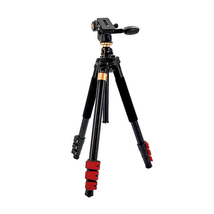 سه پایه دوربین بیک ( Beike Q600 Camera Tripod (Red