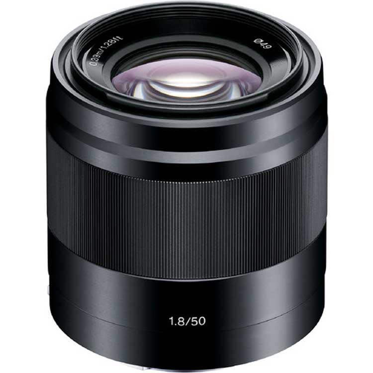 لنزسونی Sony E 50mm f/1.8 OSS Black Lens