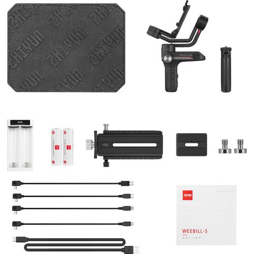 گیمبال دوربین ژیون تک Zhiyun-Tech WEEBILL-S Handheld Gimbal Stabilizer