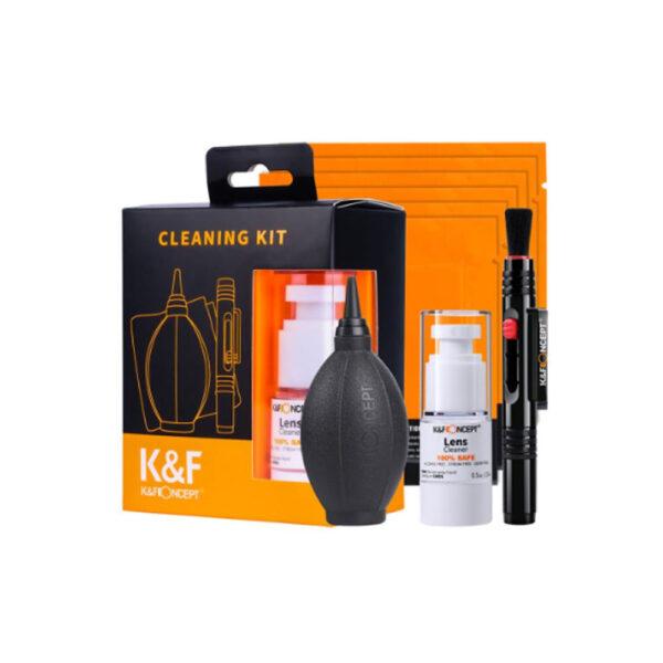 کیت تمیز کننده لنز کی اند اف K&F Cleaning Kit